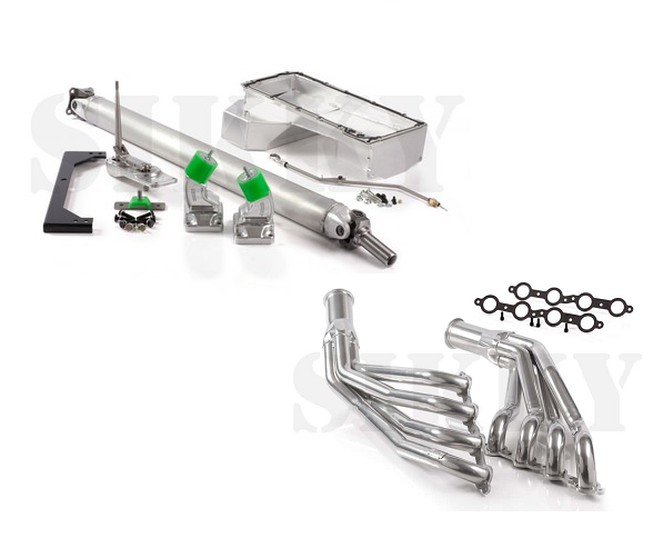 Sikky Stage 2 Infiniti G35 LSX Swap Package (w/ Headers & PS line kit)