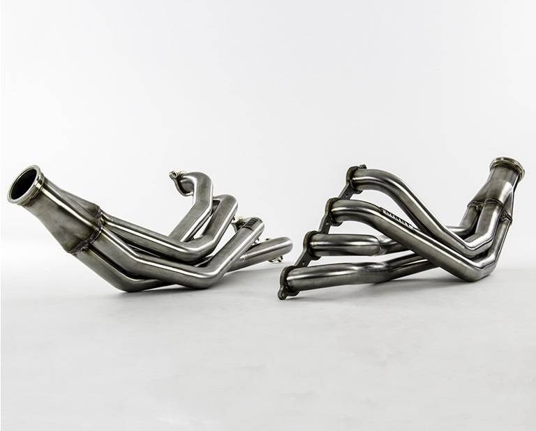 Sikky Nissan 240sx LSx Swap Headers - Stainless Steel Pro Series LHD