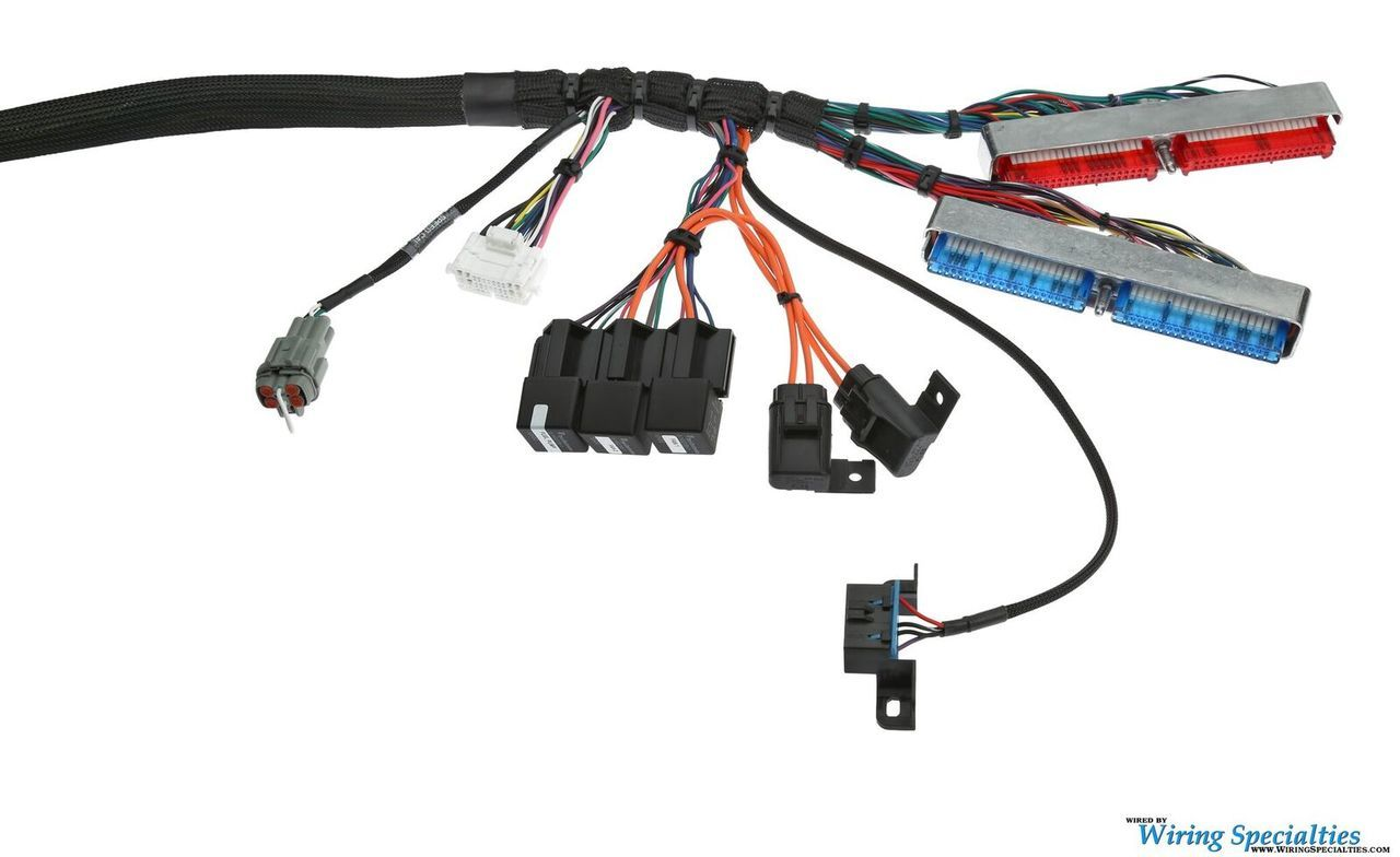 Wiring Specialties LS1 S13 240sx Wiring Harness on