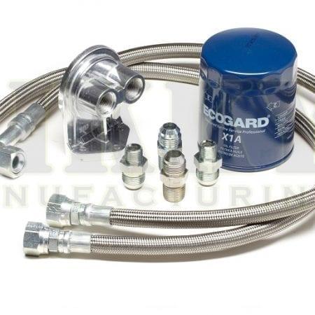 LSx oil filter relocation kit