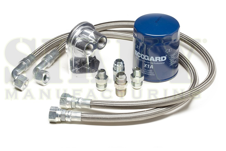 Sikky Universal LSx Swap Oil Filter Relocation Kit