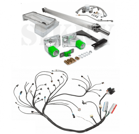 Nissan 240sx S13 Lsx Swap Kit Stage 3 Kit W Wiring Sikky
