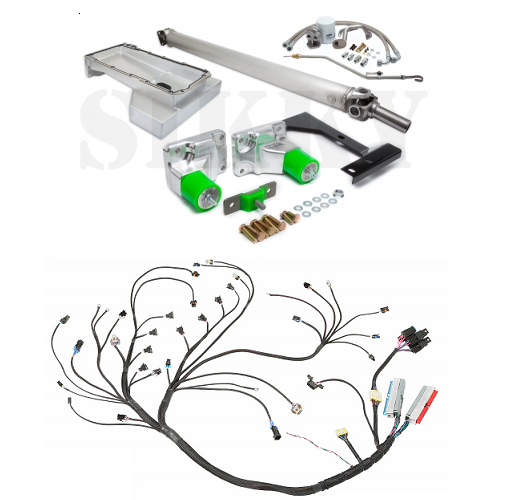 Ls1 Wiring Harness Swap Kit : Nissan sx s ls swap kit with wiring sikky