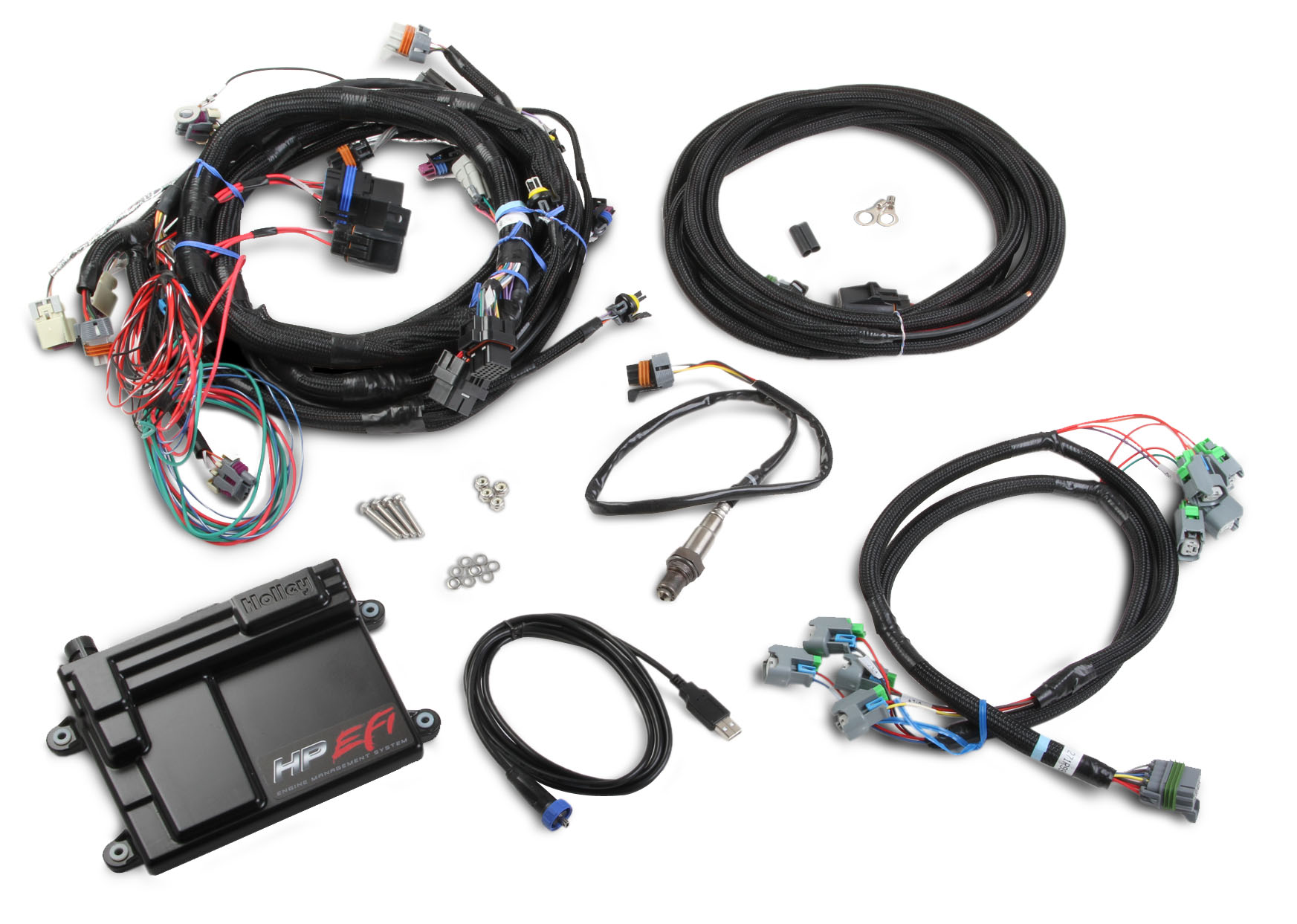 standalone ls2    ls3    ls7 wiring harness with ecu