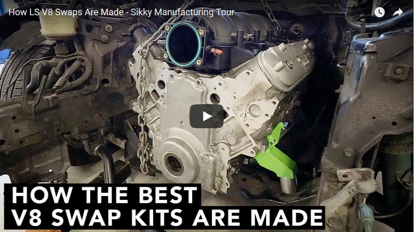 LS Swap Kits | LS Motor Mounts | LS Swap Accessories | SIKKY