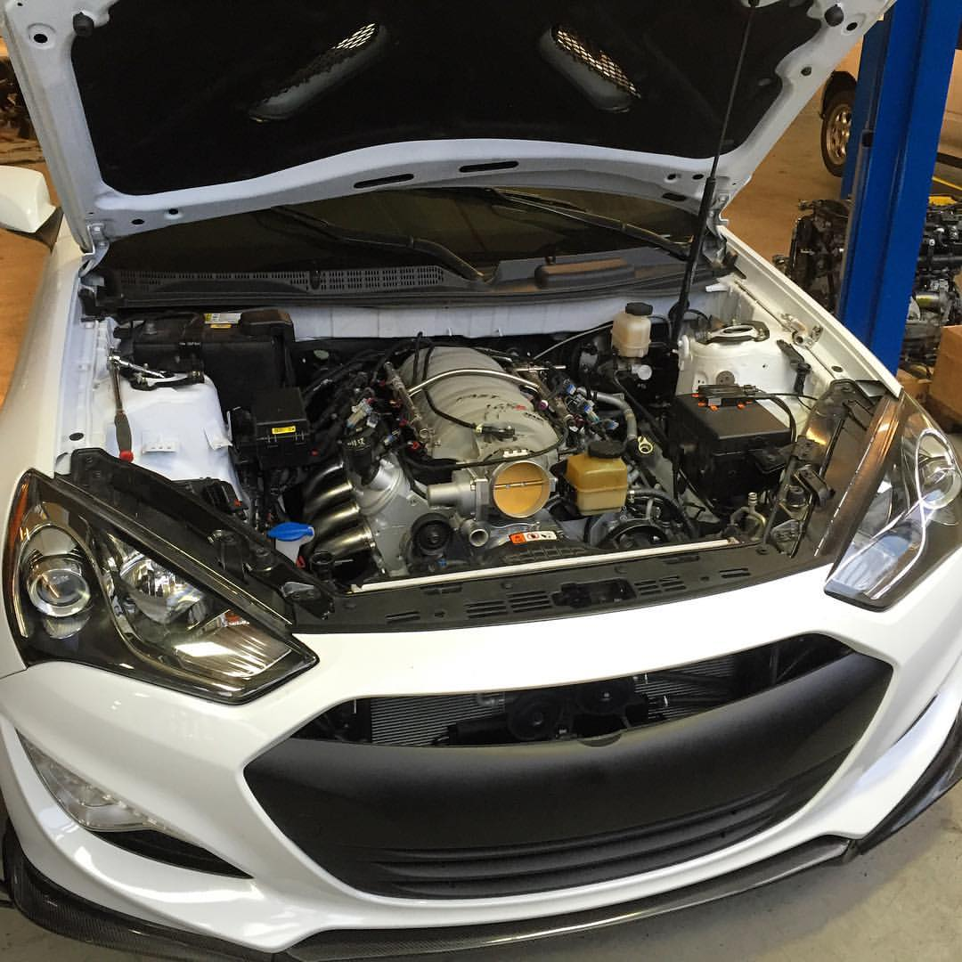 Sikky Stage 1 Hyundai Genesis Coupe (2013+) LSX Swap Package