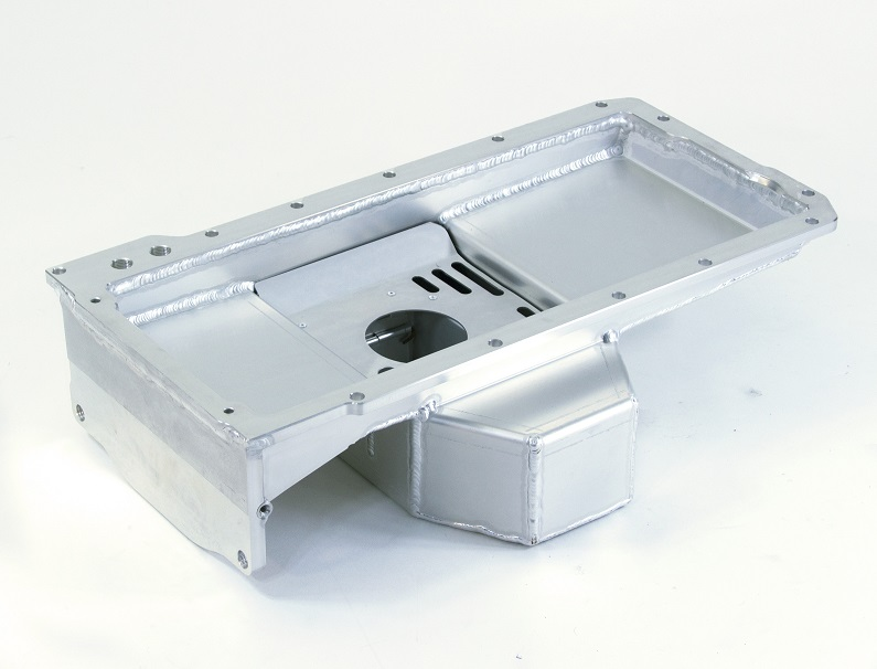 Sikky Universal LSx Swap Oil Pan- Mid Sump Style 2