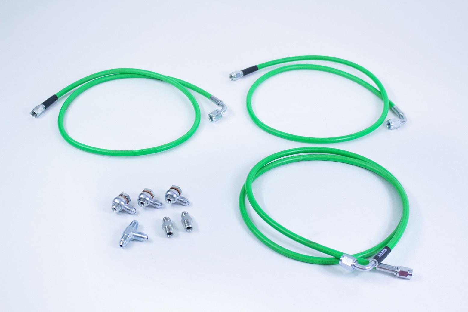 Optional Dual Caliper Line kit