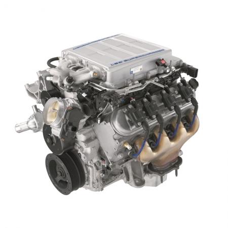 GM Chevrolet Performance LS9 6.2L SC Long Block Crate Engine
